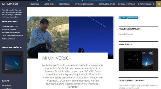"""Vídeo promocional """"Mi Universo"""""""