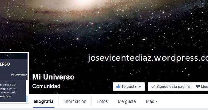 """""""Mi Universo"""" en facebook"""