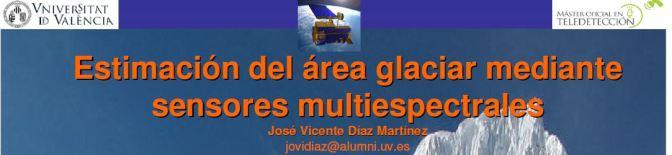 Midiendo áreas Glaciares