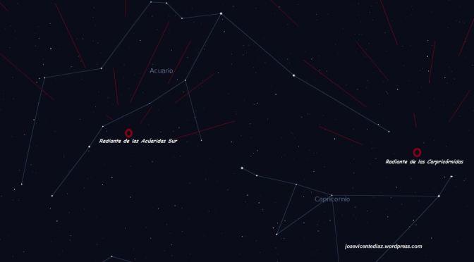 Esta madrugada (29 al 30 julio): Lluvia doble de Meteoros
