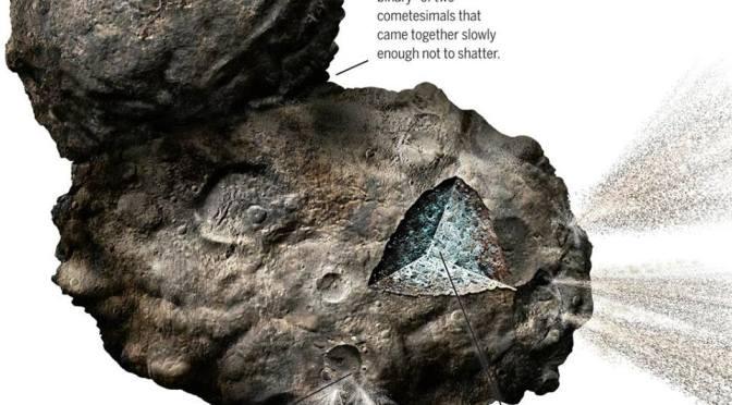 Rosetta llega al cometa