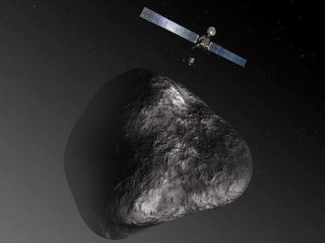 Las Misiones espaciales a cuerpos menores