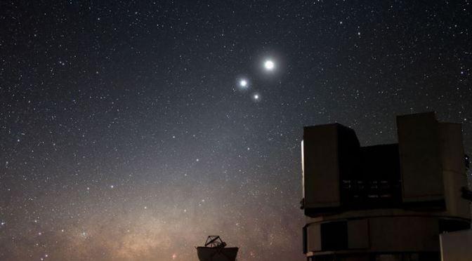 Conjunción Luna-Saturno el 31 de agosto