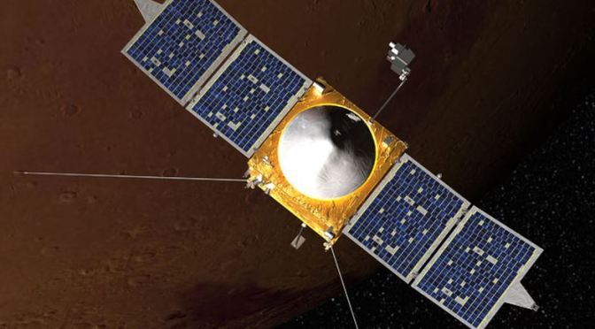 La Sonda MAVEN y Marte