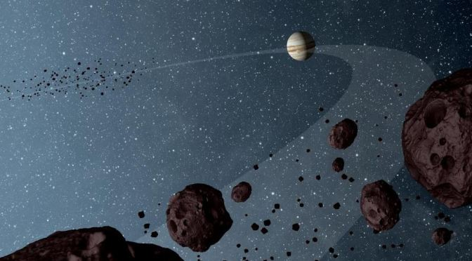 Los asteroides troyanos de Júpiter