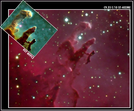 M16 Pillars of Creation HST