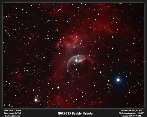 NGC7635 Bubble Nebula 2
