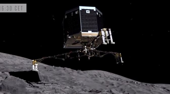 Misión Rosetta en directo