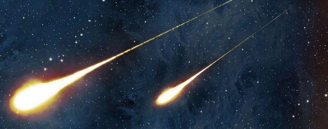 Lluvias de estrellas fugaces en 2015