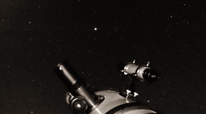 El buscador del Telescopio