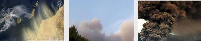 Aerosoles Atmosféricos: En la Tierra y en Marte