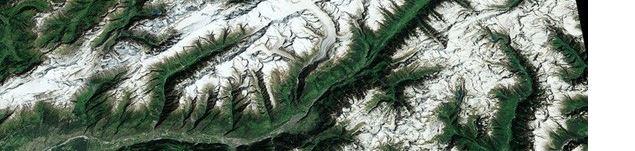 Medida de áreas de Glaciares desde el espacio