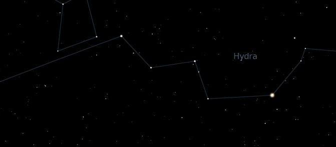 La Constelación Más grande: Hydra