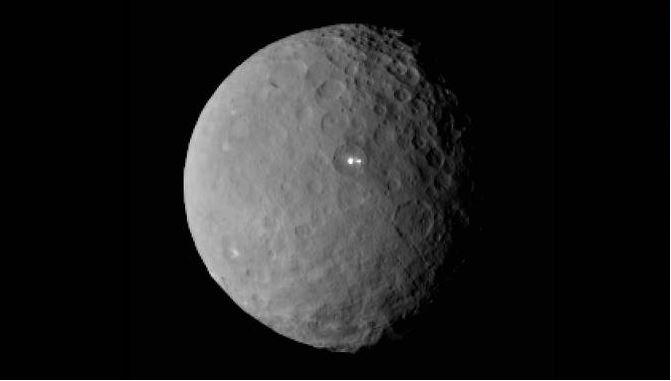 Resuelto el enigma de los puntos brillantes de Ceres