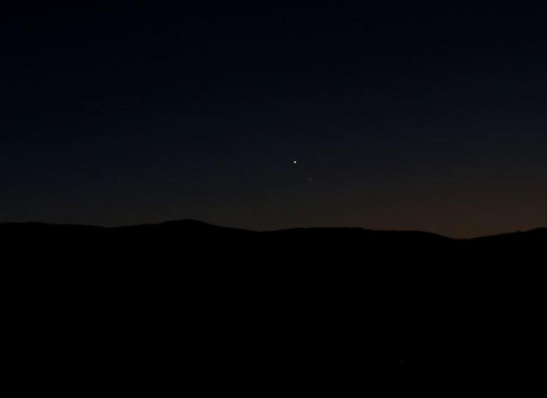 Conjunción Venus Mercurio