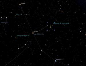 nebulosa andrómeda_stellarium