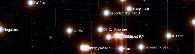 100.000 estrellas en 3D