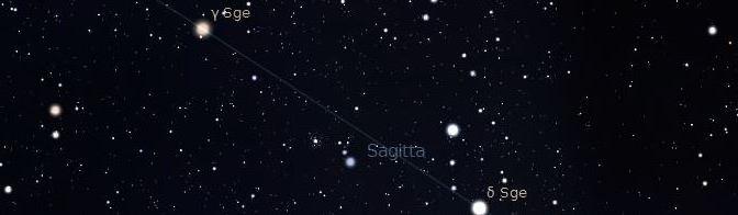 Una flecha en el cielo: Sagitta