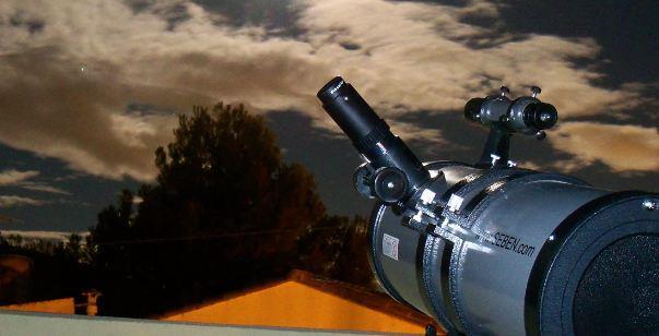 Los oculares de los telescopios