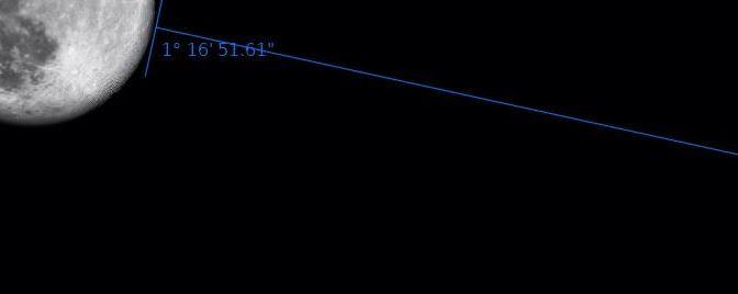 Conjunción Luna-Saturno junio 2015