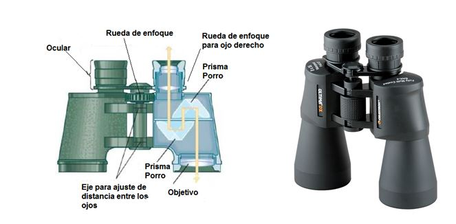 prismáticos