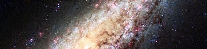 Una Galaxia perdida en la inmensidad del vacío