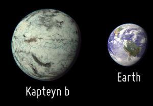 comparación con la Tierra