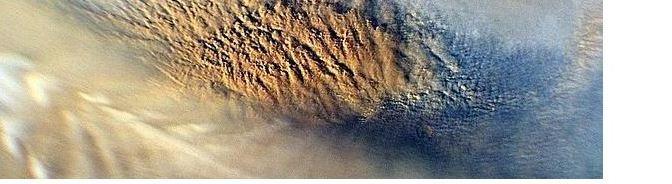 Aerosoles en la Tierra y en Marte