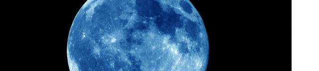 ¿Una Luna azul?