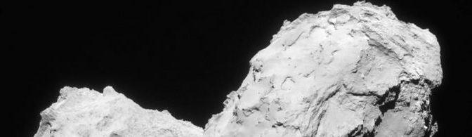 Un año en un cometa: Imágenes espectaculares