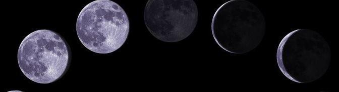 Los nombres de las Fases de la Luna