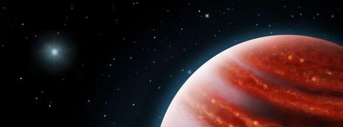 Primera imagen directa de un Exoplaneta de tipo Joviano