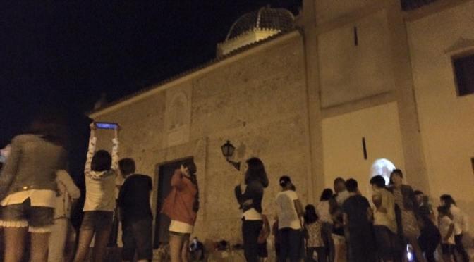 Actividad astronómica en Alberic