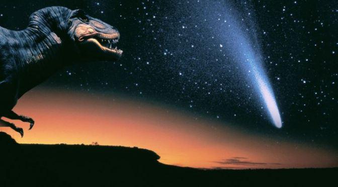 Nueva teoría sobre la extinción de los dinosaurios