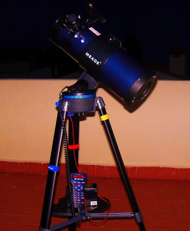 Tipos de monturas de telescopios