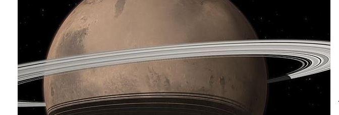 Marte tendrá un anillo en unos millones de años
