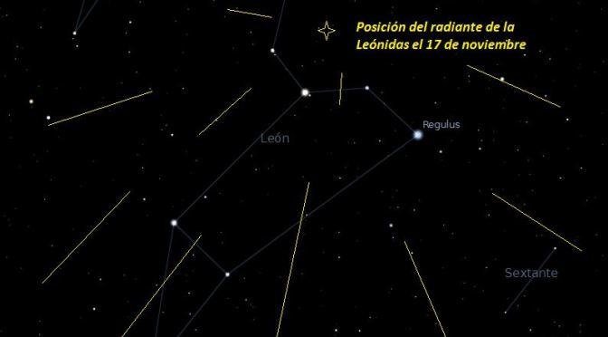Estrellas fugaces: Leónidas 2016