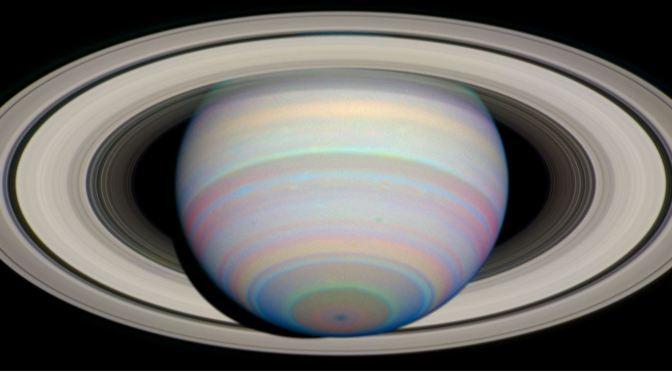 Los anillos de Saturno se formaron hace muy poco tiempo