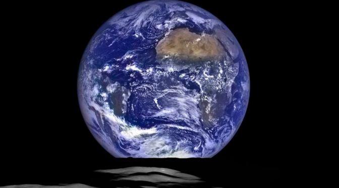La Tierra desde la Luna: Belleza extrema