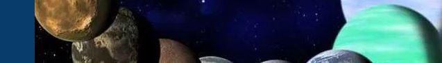 Cinco planetas en el cielo