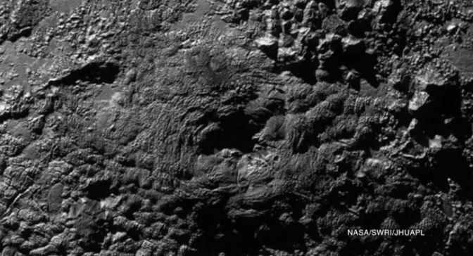 Plutón y sus volcanes helados