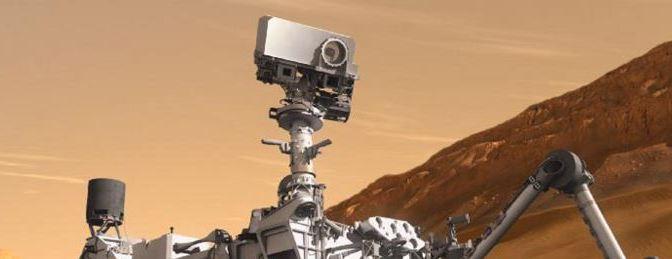 Selfie desde Marte