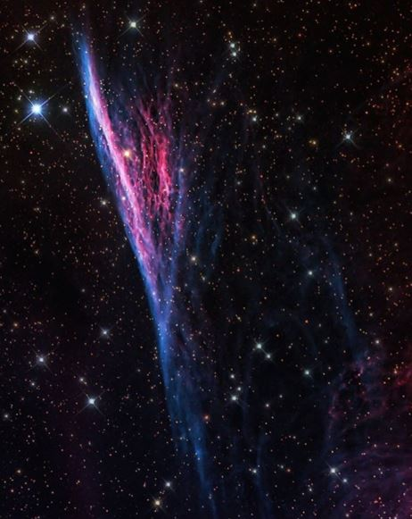 pencil nebula hubble