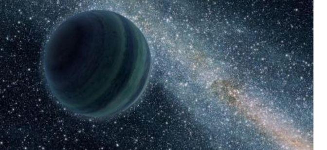 Un planeta supergigante perdido en el espacio