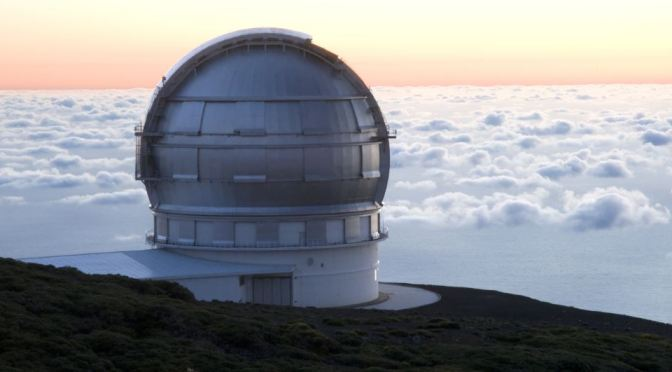 Grandes telescopios del mundo: El Gran telescopio de Canarias (GTC)