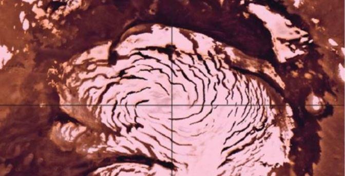 El período Glacial de Marte