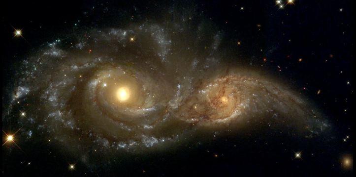 colision galaxias