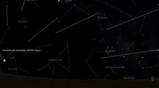 Estrellas fugaces en mayo: las Eta Acúaridas