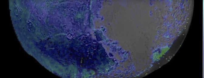 La concentración de hielo en Plutón