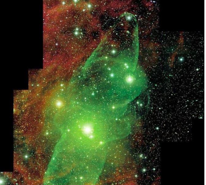 La Nebulosa del Calamar gigante